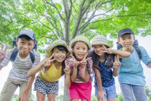 宝塚市の放課後等デイサービスに通う子供たち