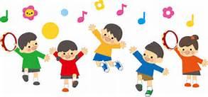 踊る子供たち