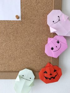 折り紙、ハロウィン